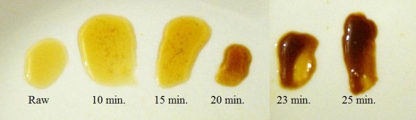 Bochet - Honey sampling as it boils