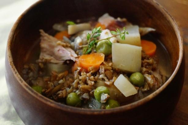 Spent Grain Chicken Stew