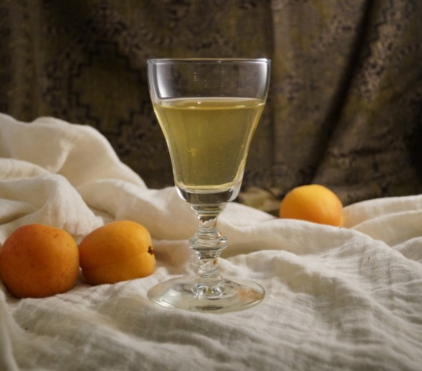 apricot wine from 1690 Lucayos Cookbook