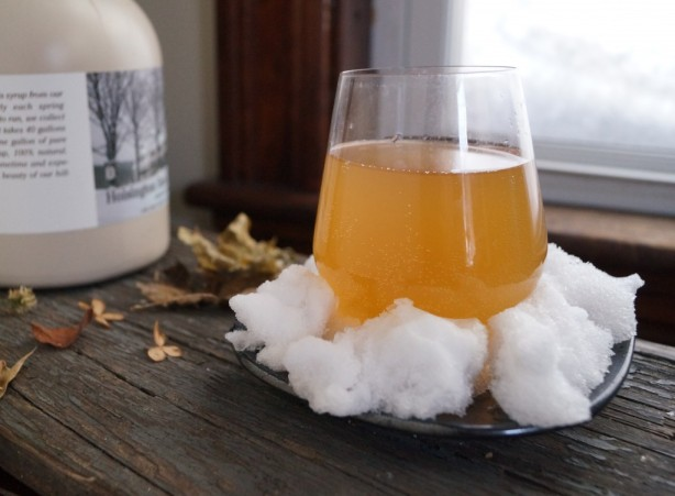 naturally fermented maple cider