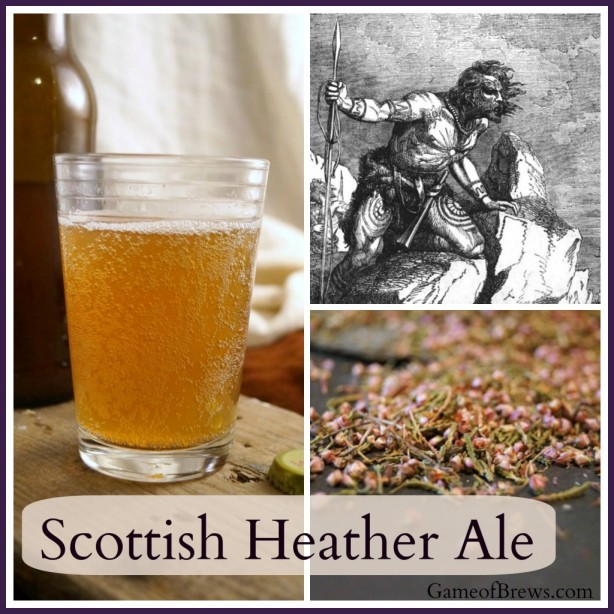 Scottish Heather Ale, from Game of Brews